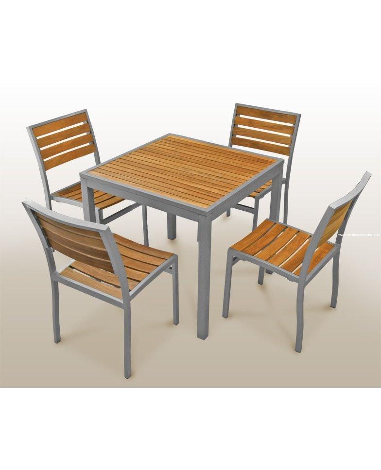 Florida Seating Teak Inlay Tables